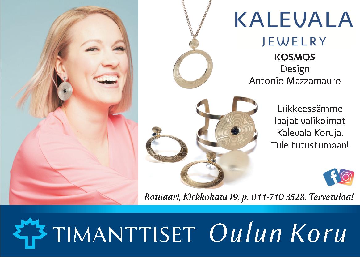 Oulun koru mainos